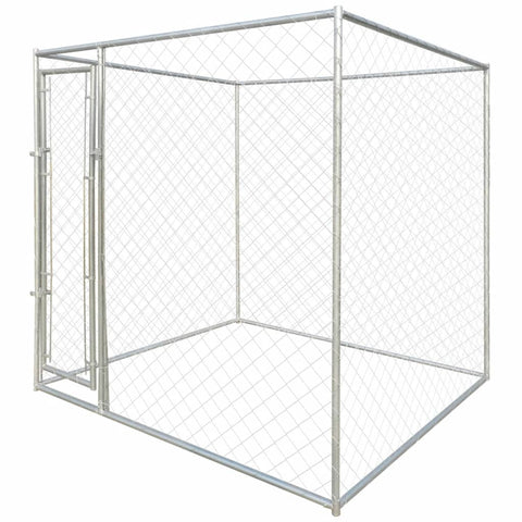 Outdoor Dog Kennel 6'x6'x6'