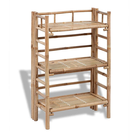 3-tier Bamboo Plant Rack