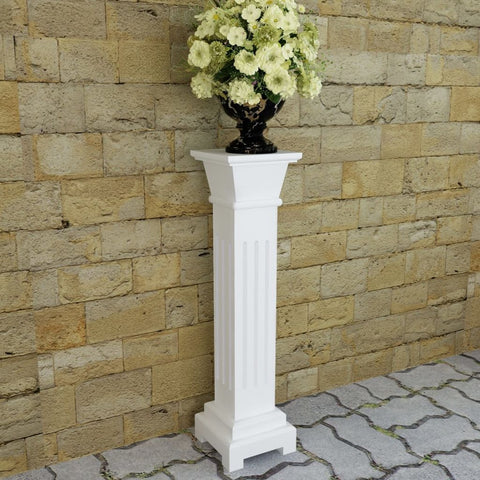Classic Square Pillar Plant Stand MDF