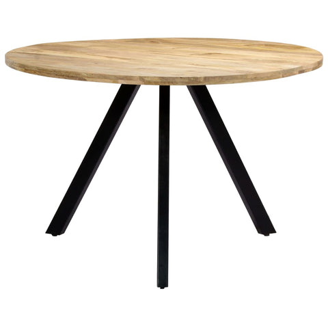Dining Table 47.2x30 Solid Mango Wood
