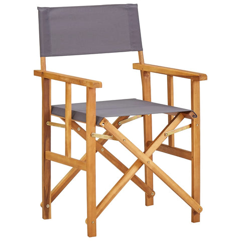 Director's Chairs Solid Acacia Wood