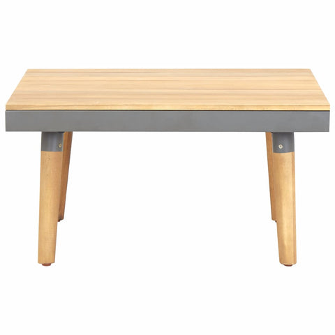 Garden Coffee Table 23.6x23.6x12.4 Solid Acacia Wood
