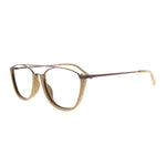 FT 5351 C3 Light Brown - Mollucas - Frame Kacamata Pria / Wanita Minus Plus Silinder Anti Radiasi