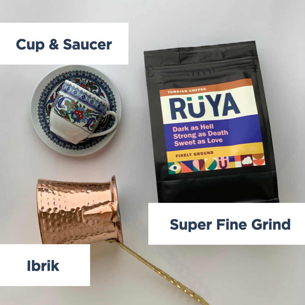 Turkish Coffee Kit