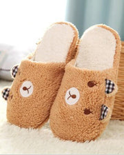 Indoor soft cotton women's slippers