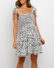 Leopard Fit & Flare Dress