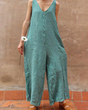 Summer Street Fashion Women's Jumpsuit