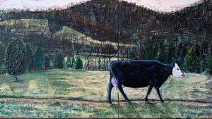Lonesome Valley Diptych - 24.5x42.5in