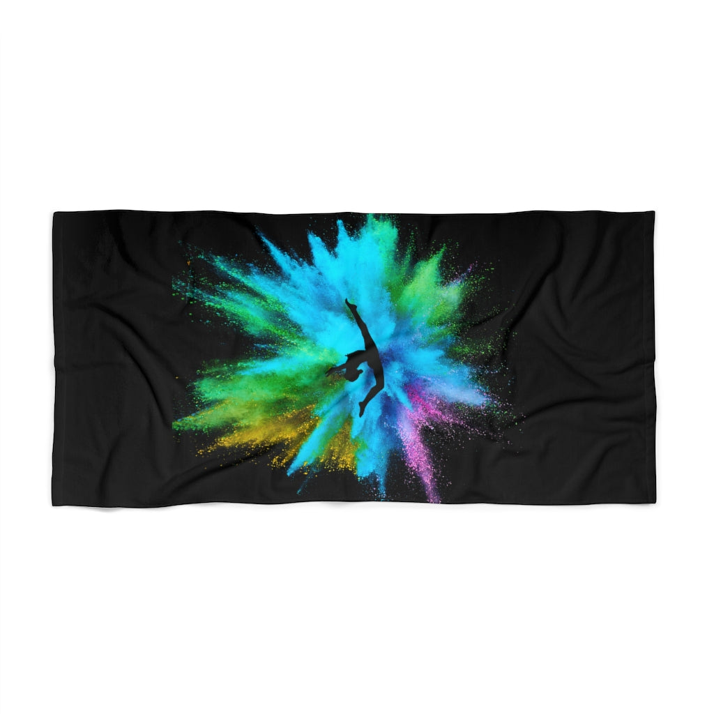 Gymnastics Beach Towel