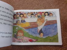 Load image into Gallery viewer, Autographed River's Olympic Dreams- By Vanessa Atler - gymnastics children/Autograph book