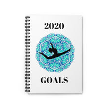 Load image into Gallery viewer, 2020 Gymnastics Goals Spiral Notebook - Ruled Line