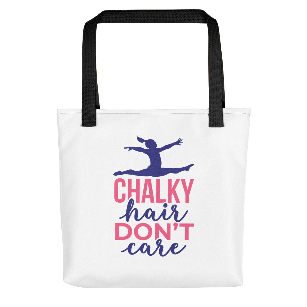 Chalky hair don't care Tote bag