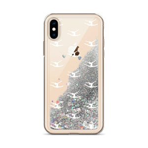 Gymnast Liquid Glitter Phone Case