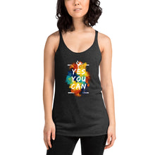 Load image into Gallery viewer, Yes You Can Women's Racerback Tank