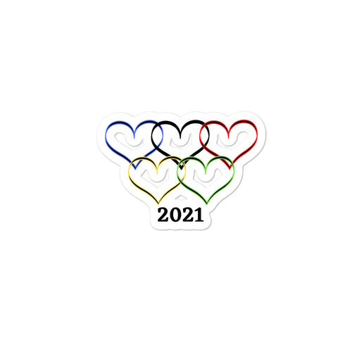 2021 Bubble-free stickers