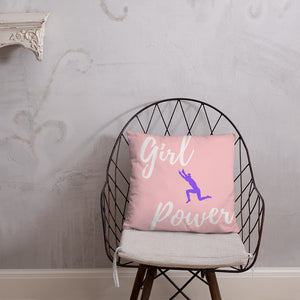 Girl Power Basic Pillow