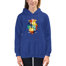 Load image into Gallery viewer, Yes You Can Kids Hoodie