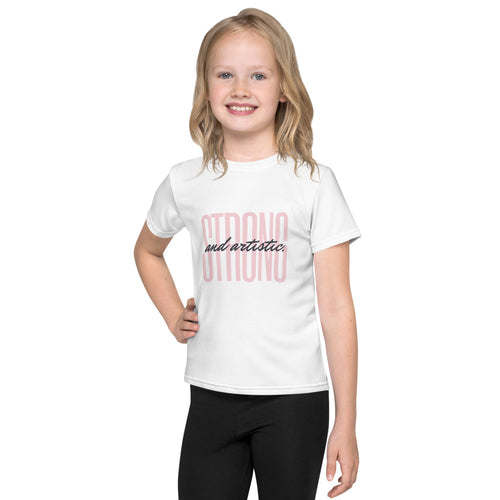 Strong and artistic Kids T-Shirt
