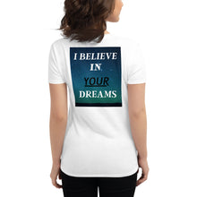 Load image into Gallery viewer, I Believe Coach Women's short sleeve t-shirt