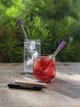 Load image into Gallery viewer, Mindful Nature Stainless Steel Collapsible Telescopic Reusable Drinking Straws