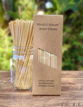 Load image into Gallery viewer, Mindful Nature All-Natural Wheat Straws