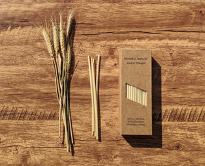 Mindful Nature All-Natural Wheat Straws