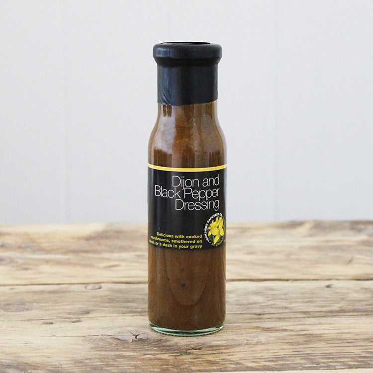Dijon and Black Pepper Dressing