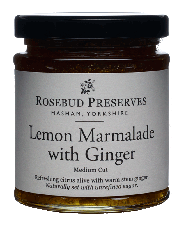 Lemon Marmalade with Ginger