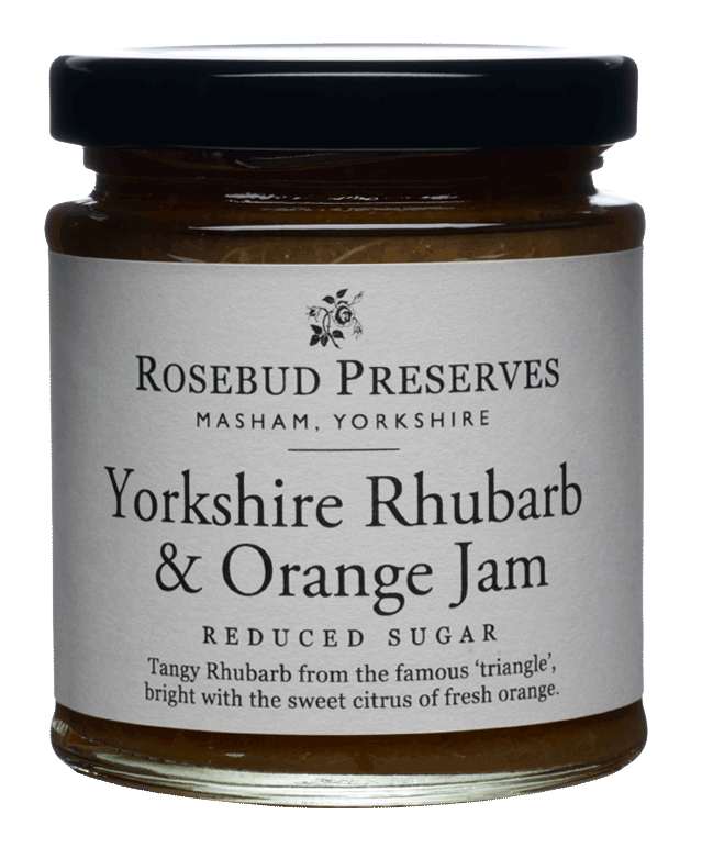 Yorkshire Rhubarb & Orange Jam