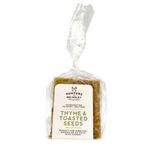Thyme & Toasted Seeds Crackers