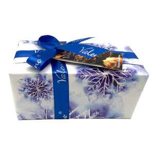 Ice Crystal Gift Wrapped Assorted Belgian Chocolates