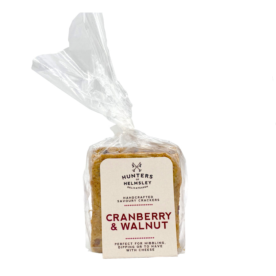 Cranberry & Walnut Crackers