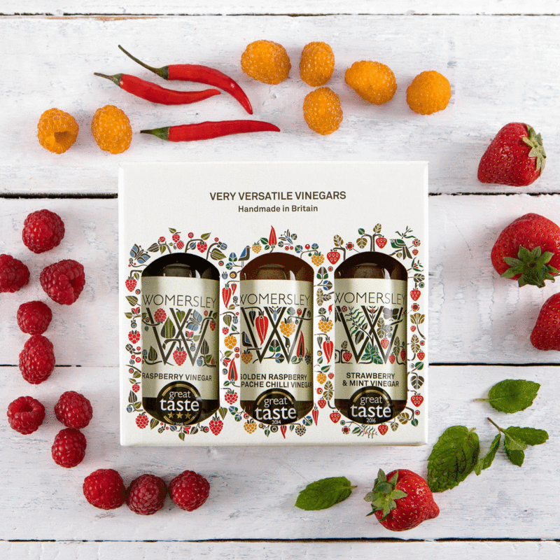 The Womersley Vinegar & Recipes Gift Box