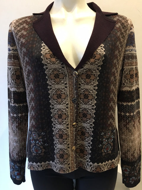 Knit Jacket in Muted Naturals