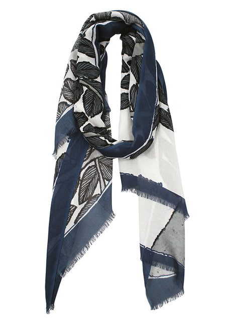 Morrison Grey Antique Tree Scarf