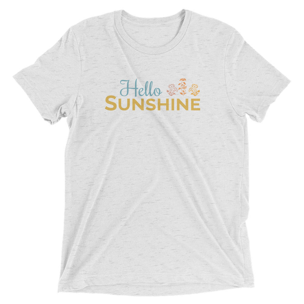 Hello Sunshine Flower t-shirt