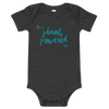 """I'm a Plant Powered Kid"" Baby Onesie"