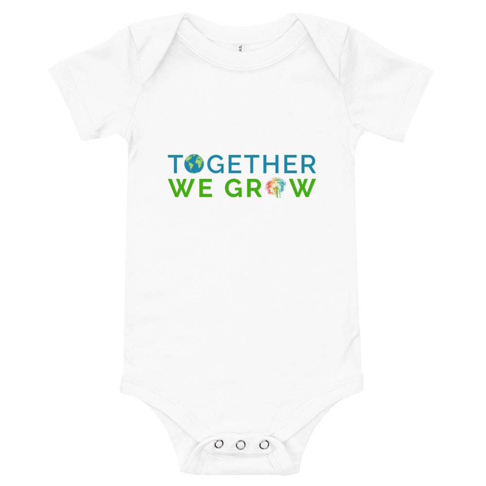 Together We Grow Onesie