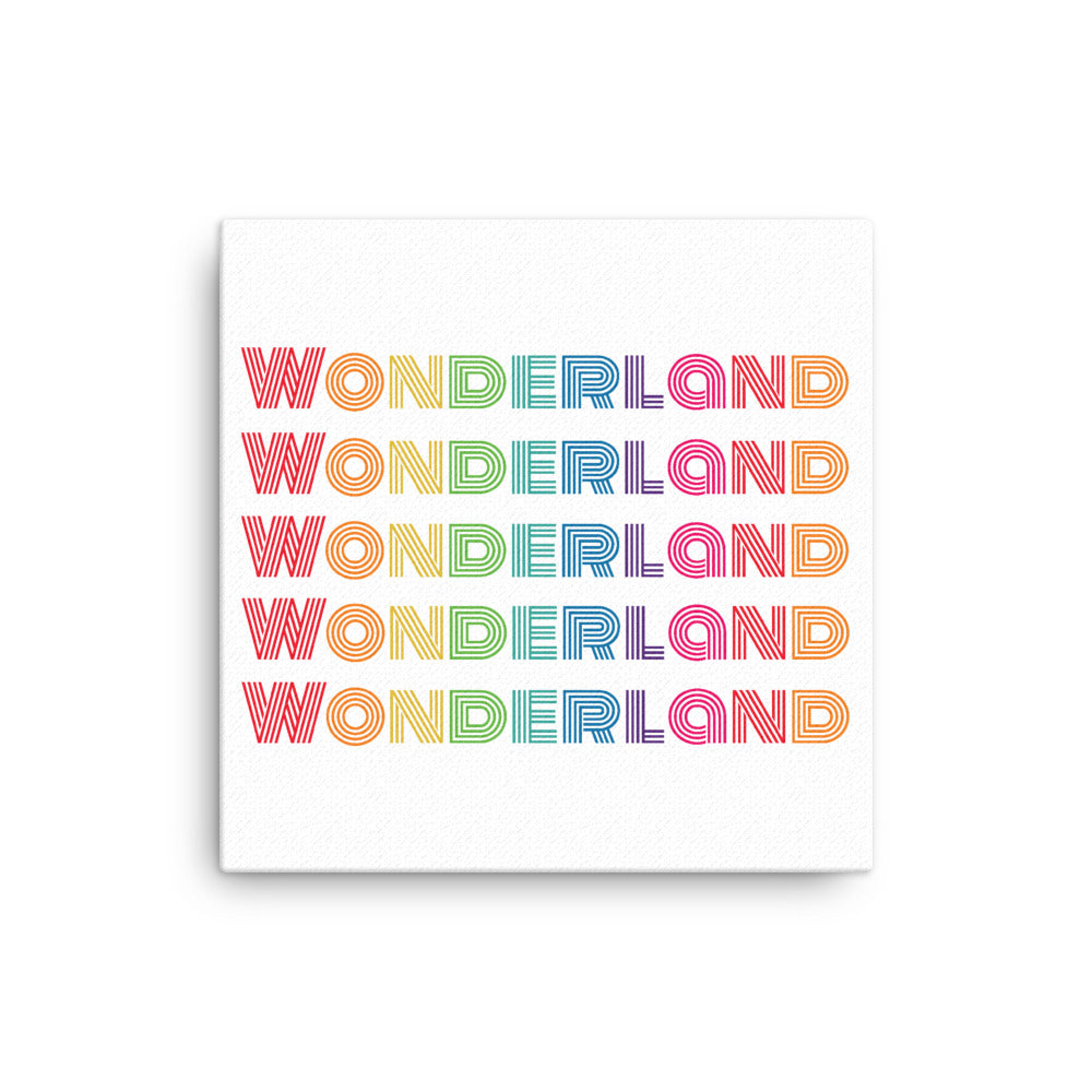 """Wonderland"" Canvas"