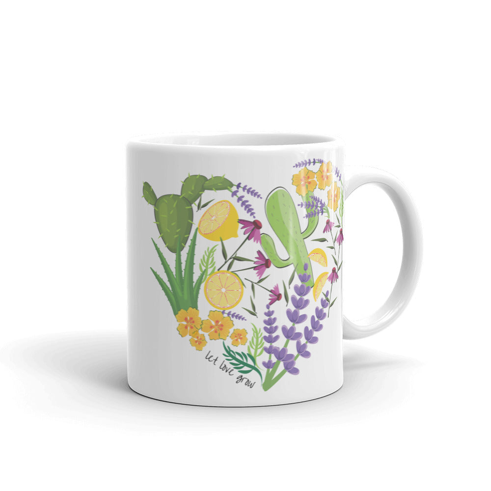 Let Love Grow Mug