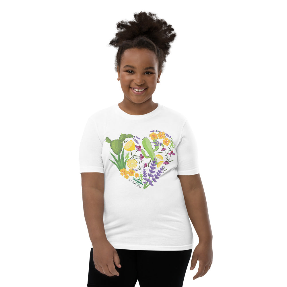 Let Love Grow Youth T-Shirt