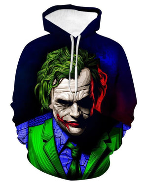 Clown 3d Print Fashion Hoodie