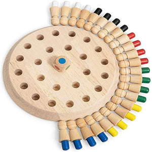 Wooden Memory Match Stick Game