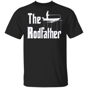 The Rodfather - Plus Sizes Fishing T-Shirt