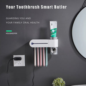 Toothbrush Holder Sterilizer Box