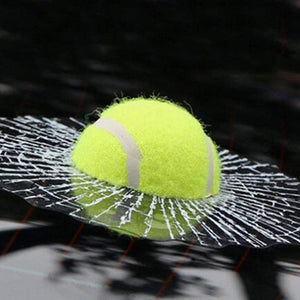 Ball Hits Car Window 3D Sticker