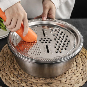 Multi-function Grater Basin