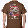 Being Papa Is Priceless - Plus Sizes T-shirt For Dad