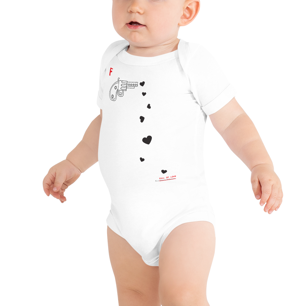 SPREAD LOVE-- Baby Onesie