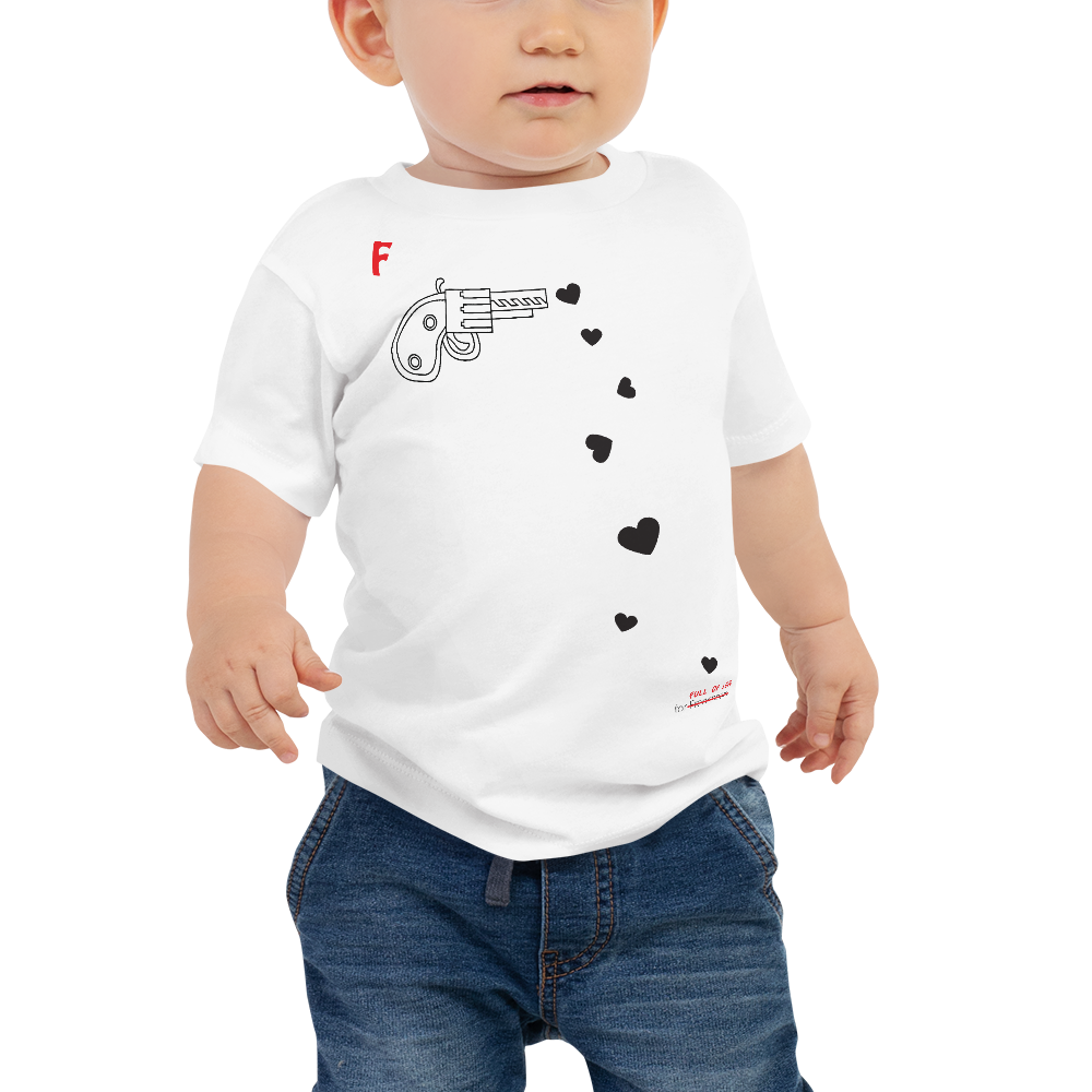 SPREAD LOVE-- Short-Sleeved, Baby T-Shirt